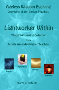Final cover Lightworker Within - Voices For Ascended Master page